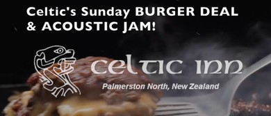 Sunday Burger Jam – Open Mic/Jam