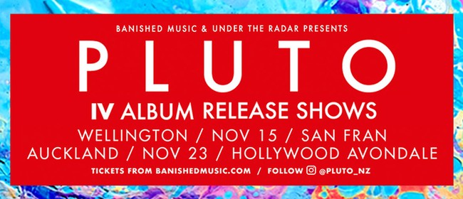 Pluto IV Album Release Shows