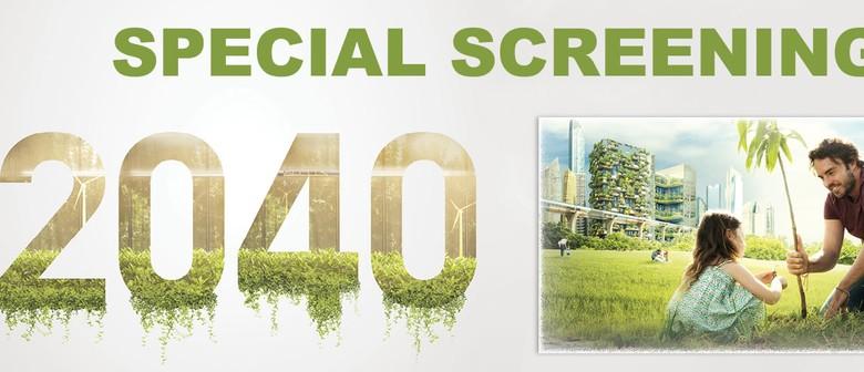 FLICKS CINEMA '2040' (PG)
