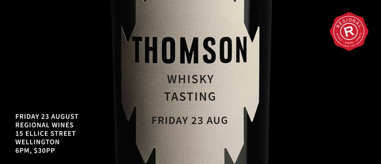 Thomson Whisky Master Class With Sam