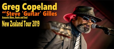 Greg Copeland and Steve 'Guitar' Gilles acoustic Blues duo