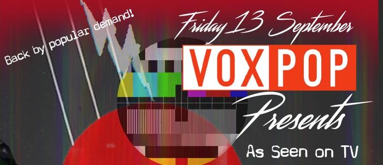 VoxPop Singers presents 'As Seen on TV'