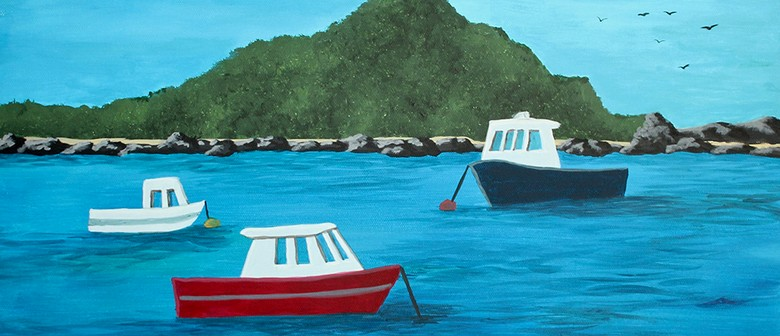 Create Your Own Island Bay Painting