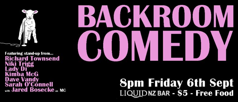 Backroom Comedy September 2019