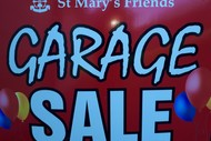 Image for event: St Mary's Friends Annual Garage Sale