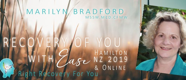 Recovery of You With Ease 2.5 Day Workshop
