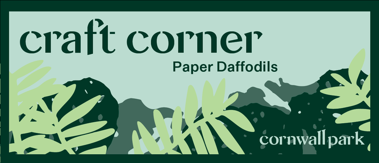 Craft Corner: Paper Daffodils