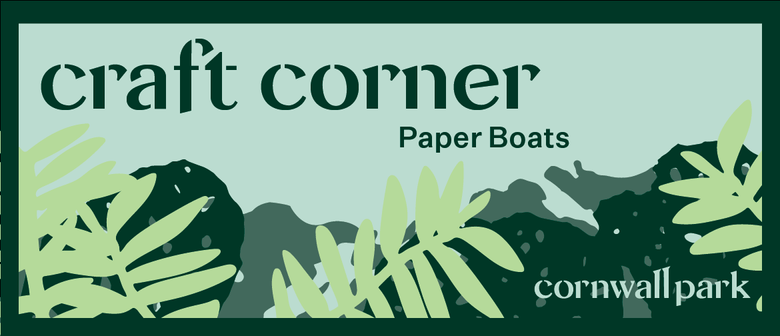 Craft Corner: Paper Boats