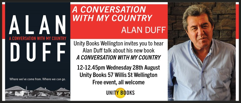 Author Talk   Alan Duff: A Conversation With My Country