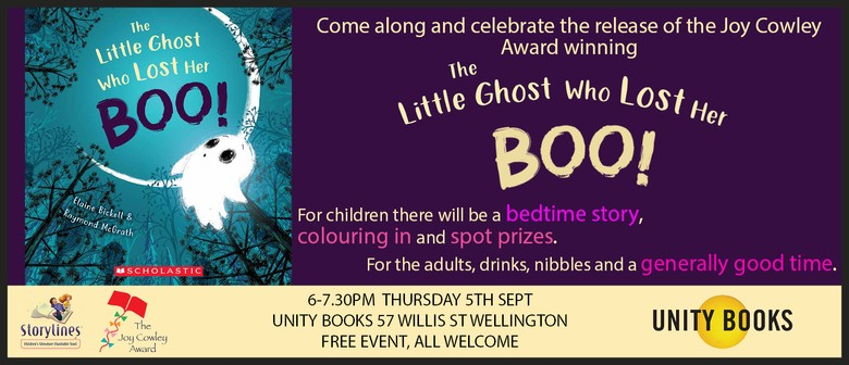 Book Event - The Little Ghost Who Lost Her Boo