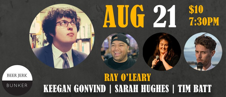 Hump Comedy: Ray O'Leary & More