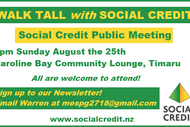 Image for event: Social Credit Public Meeting