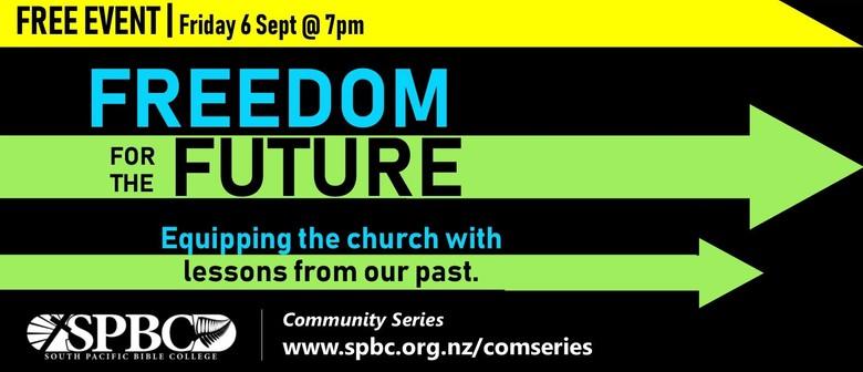 Freedom for the Future - Public Seminar