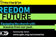 Freedom for the Future - Public Seminar