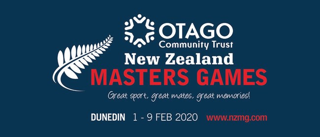 Otago Community Trust New Zealand Masters Games 2020