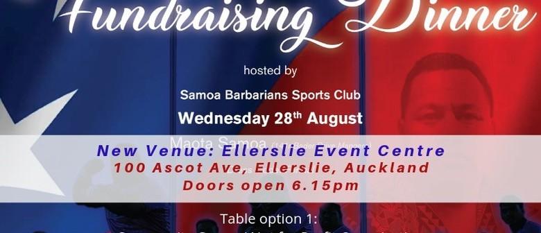 Manu Samoa Fundraising Dinner