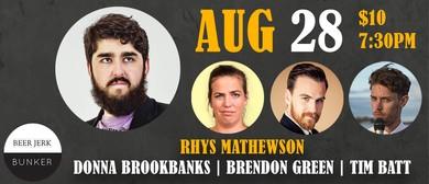 Hump Comedy: Rhys Mathewson & More