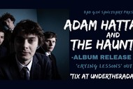 Image for event: Adam Hattaway and the Haunters Album Release Tour