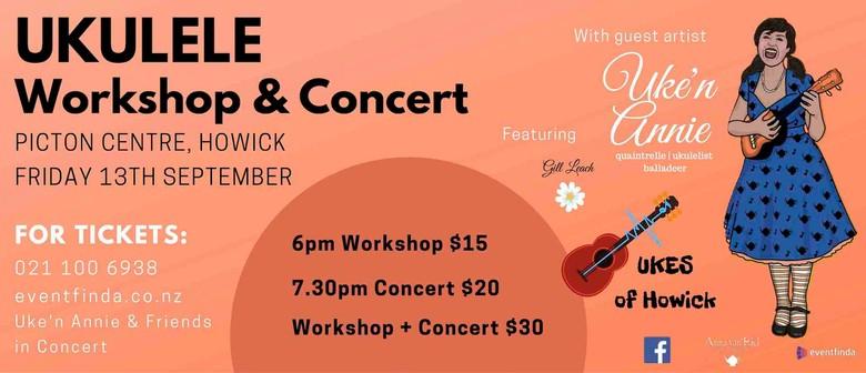 Uke'n Annie & Friends in Concert