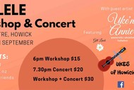 Image for event: Uke'n Annie & Friends in Concert