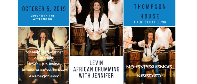 Levin African Drumming