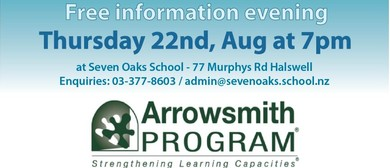 Arrowsmith Program Information Evening