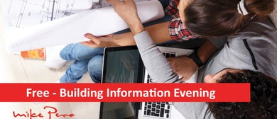 Building Information Evening: SOLD OUT