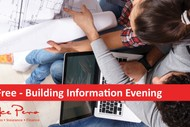 Image for event: Building Information Evening: SOLD OUT