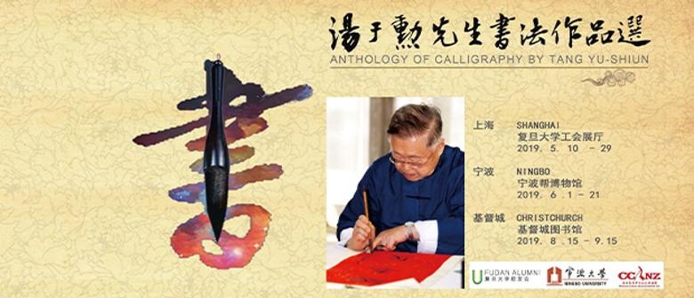 Exhibition of Calligraphy by Tang Yu-Shiun