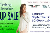 Image for event: Kumeu Women's Fitnesswear, Props and Jewellery Pop Up Sale
