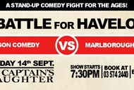 Image for event: Battle for Havelock - A Stand Up Comedy Show