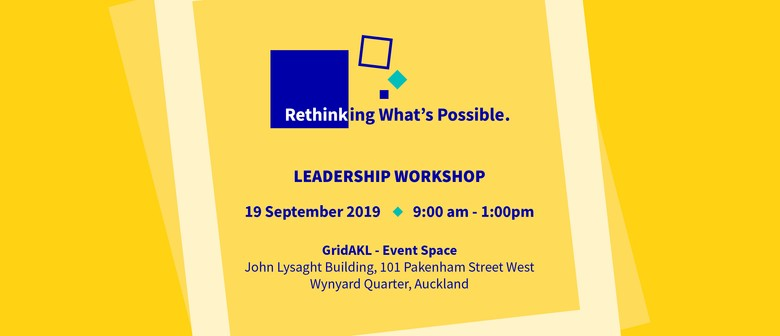 Rethinking What's Possible Leadership Workshop