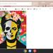 Paint 'Graffiti Frida' on Pop Art Wednesday!