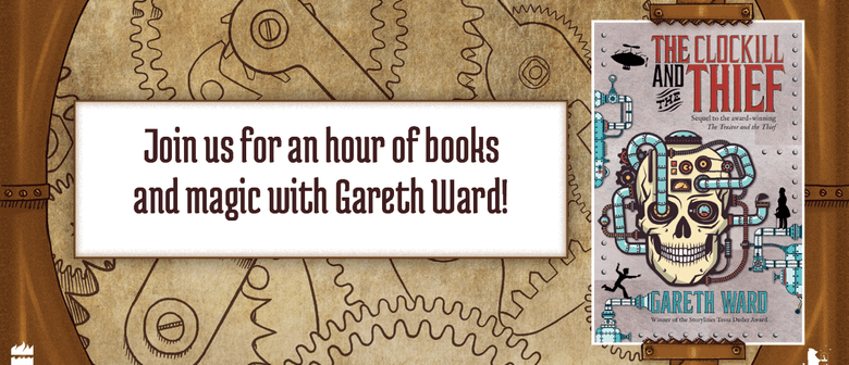 An Hour of Books and Magic with Gareth Ward