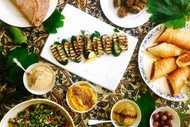 Image for event: Middle Eastern Mezze Class and Meal