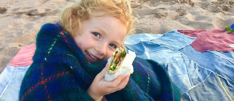 Eat a Rainbow Kids Cooking Class Wraps From Scratch