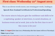 Professional Speaking Course