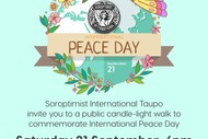 Image for event: International Peace Day Walk
