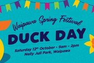 Image for event: Waipawa Spring Festival Duck Day