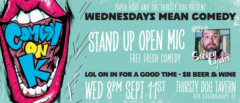 Comedy On K Stand Up Open Mic
