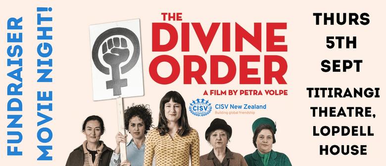 Movie Night: Divine Order. CISV NZ. Fundraiser