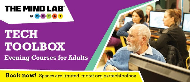 Web Design - Tech Toolbox Evening Course for Adults
