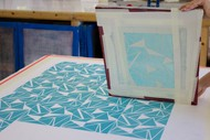 Introduction to Screen Printing; Evening Class for Beginners