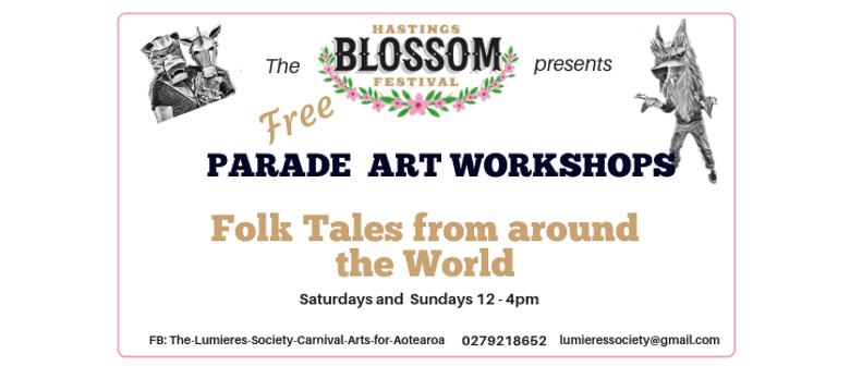 Parade Art Workshops - Hastings Blossom Parade