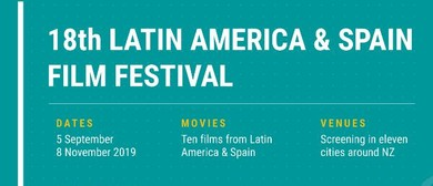 18th Latin America & Spain Film Festival - Free Event!