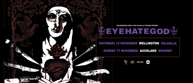Eyehategod NZ Tour - Wellington