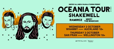 Shakewell Oceania Tour Auckland