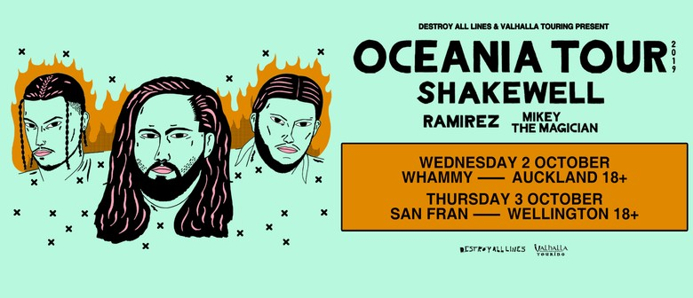 Shakewell Oceania Tour Wellington