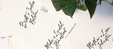 Two Evening Modern Calligraphy Workshop