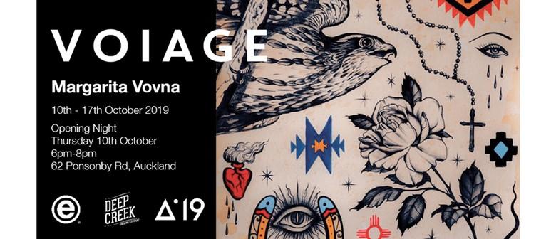 Voiage Margarita Vovna Exhibition